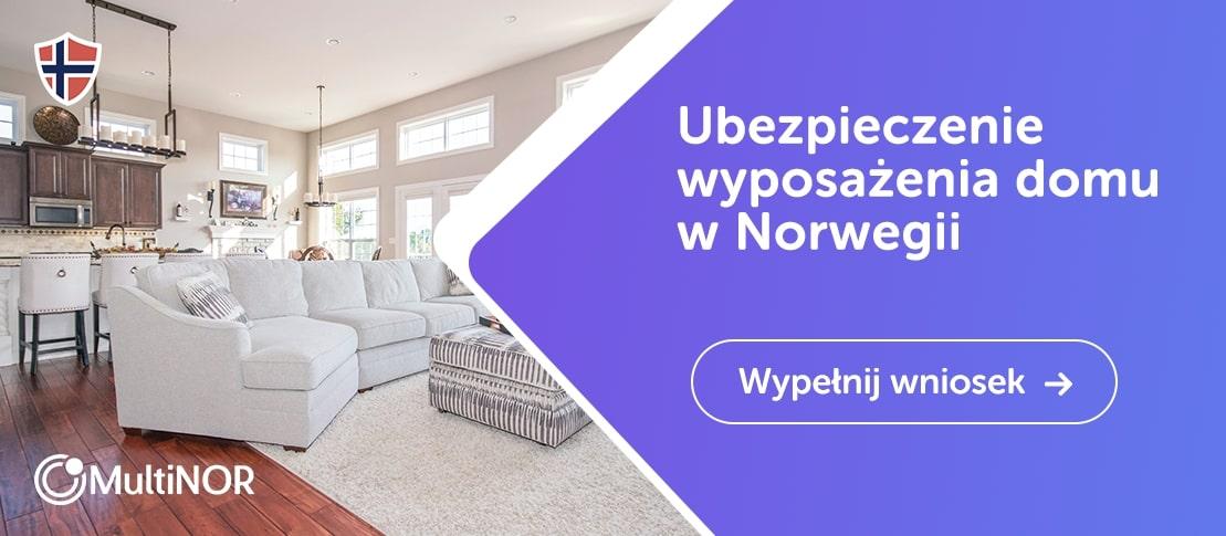 Ubezpieczenie wyposażenia domu w Norwegii