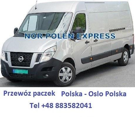 Przewoz paczek Oslo Polska 02/02/16