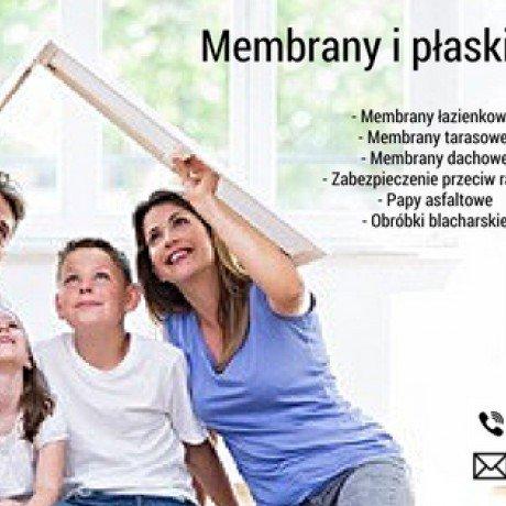 Membrany / obróbki blacharskie