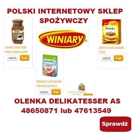 POLSKI INTERNETOWY SKLEP SPOZYWCZY NORWEGIA
