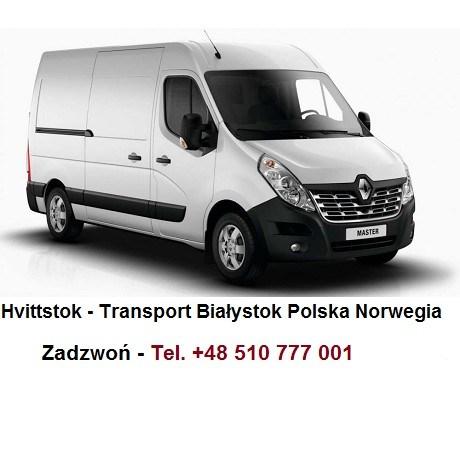 Hvittstok Transport Polska Białystok Norwegia