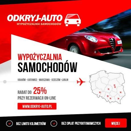 Wypożyczalnia samochodów Odkryj-Auto