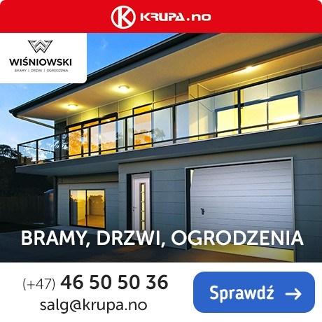 Wiśniowski i Drutex - dostępne w Norwegii