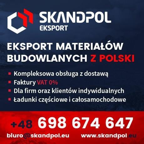 Eksport materiałów budowlanych